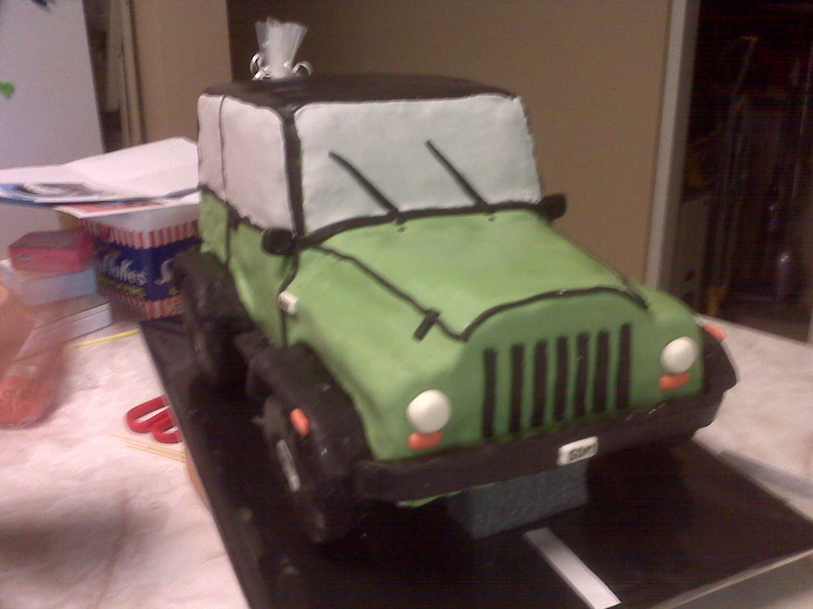 Jeep Cake on Cake Central