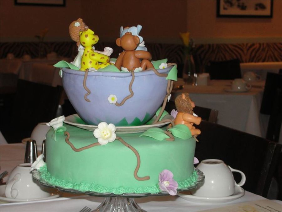 Jades First Tea Party! - CakeCentral.com