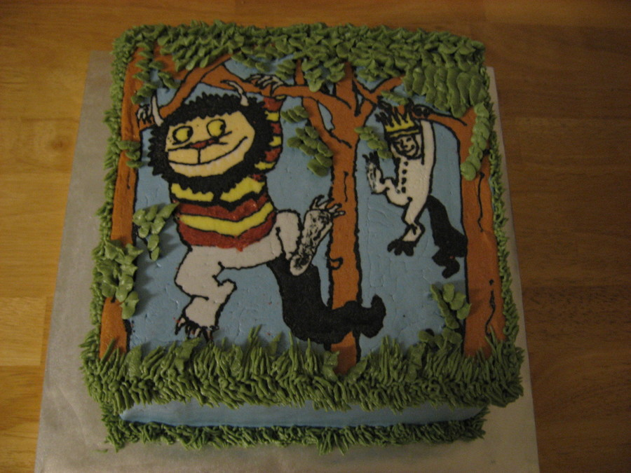 Let The Wild Rumpus Start/where The Wild Things Are Cake on Cake Central