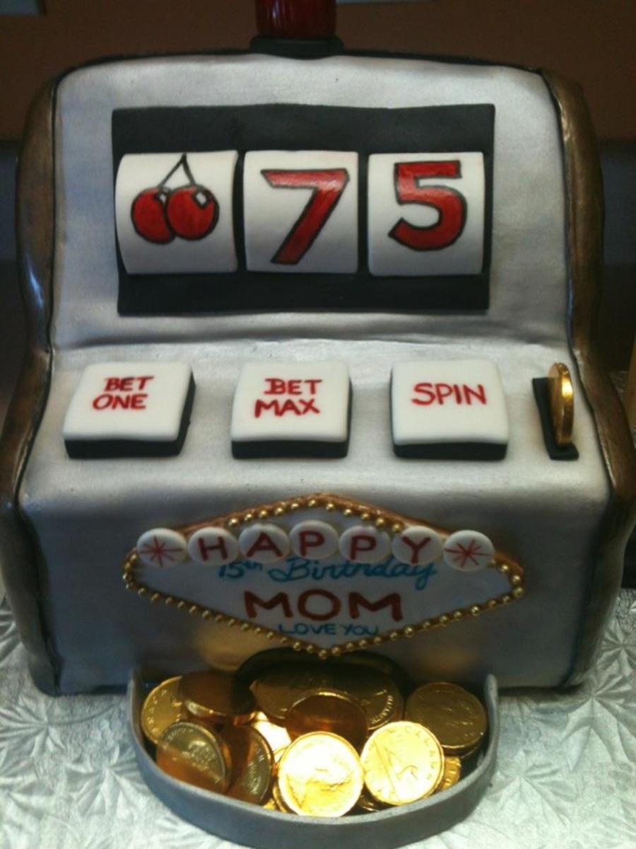 Slot Machine 75Th Birthday CakeCentralcom
