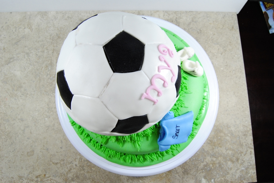 Soccer Ball Birthday on Cake Central