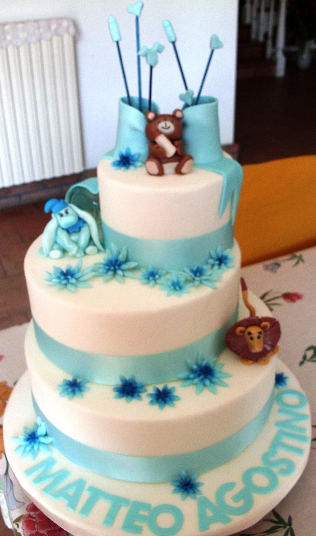 abbastanza Torta Battesimo Bimbo - CakeCentral.com GF27