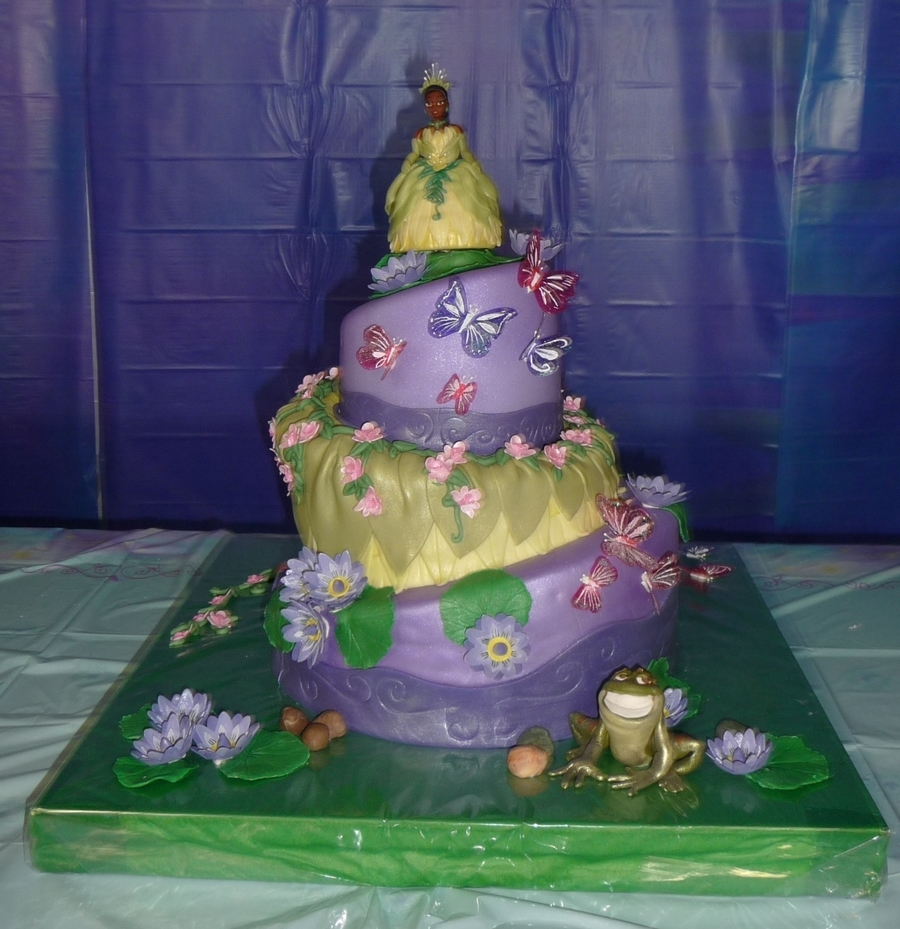 The Princess & The Frog on Cake Central