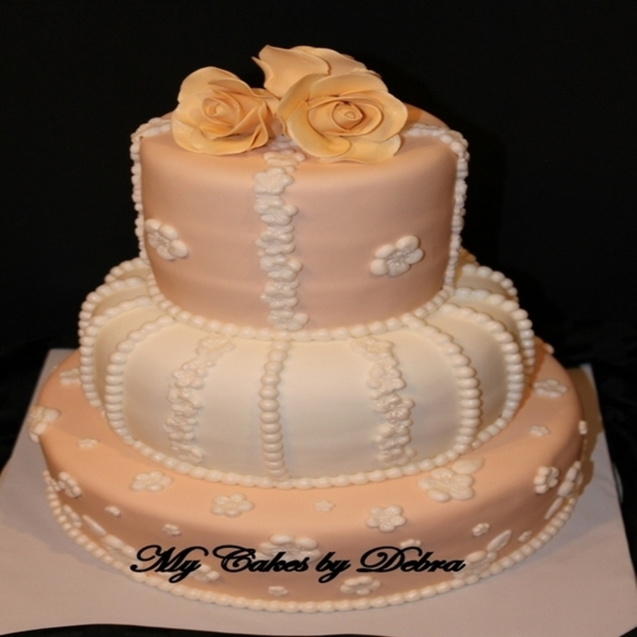 72Nd Wedding Anniversary Cake on Cake Central
