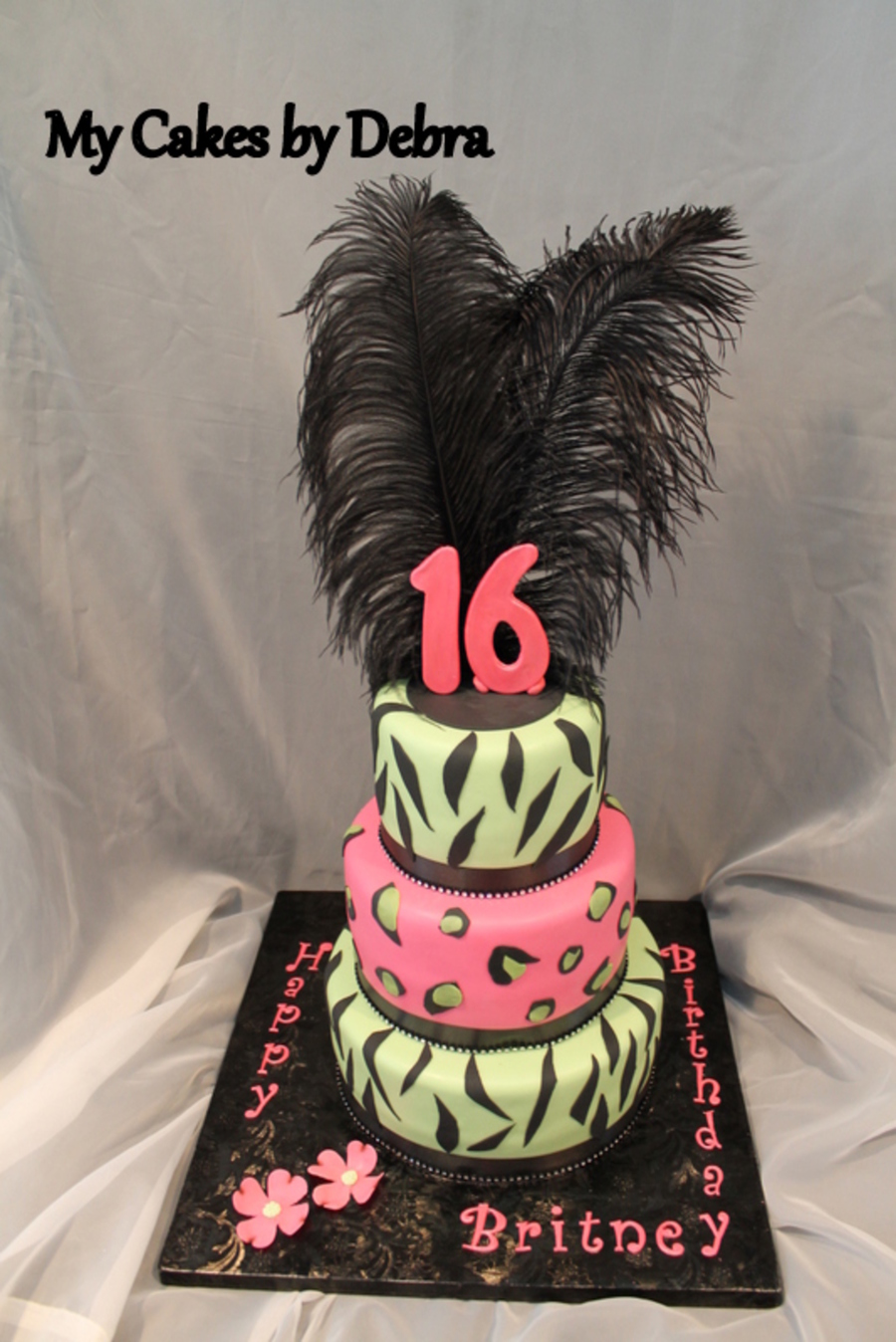 Sweet 16 Birthday Cake on Cake Central