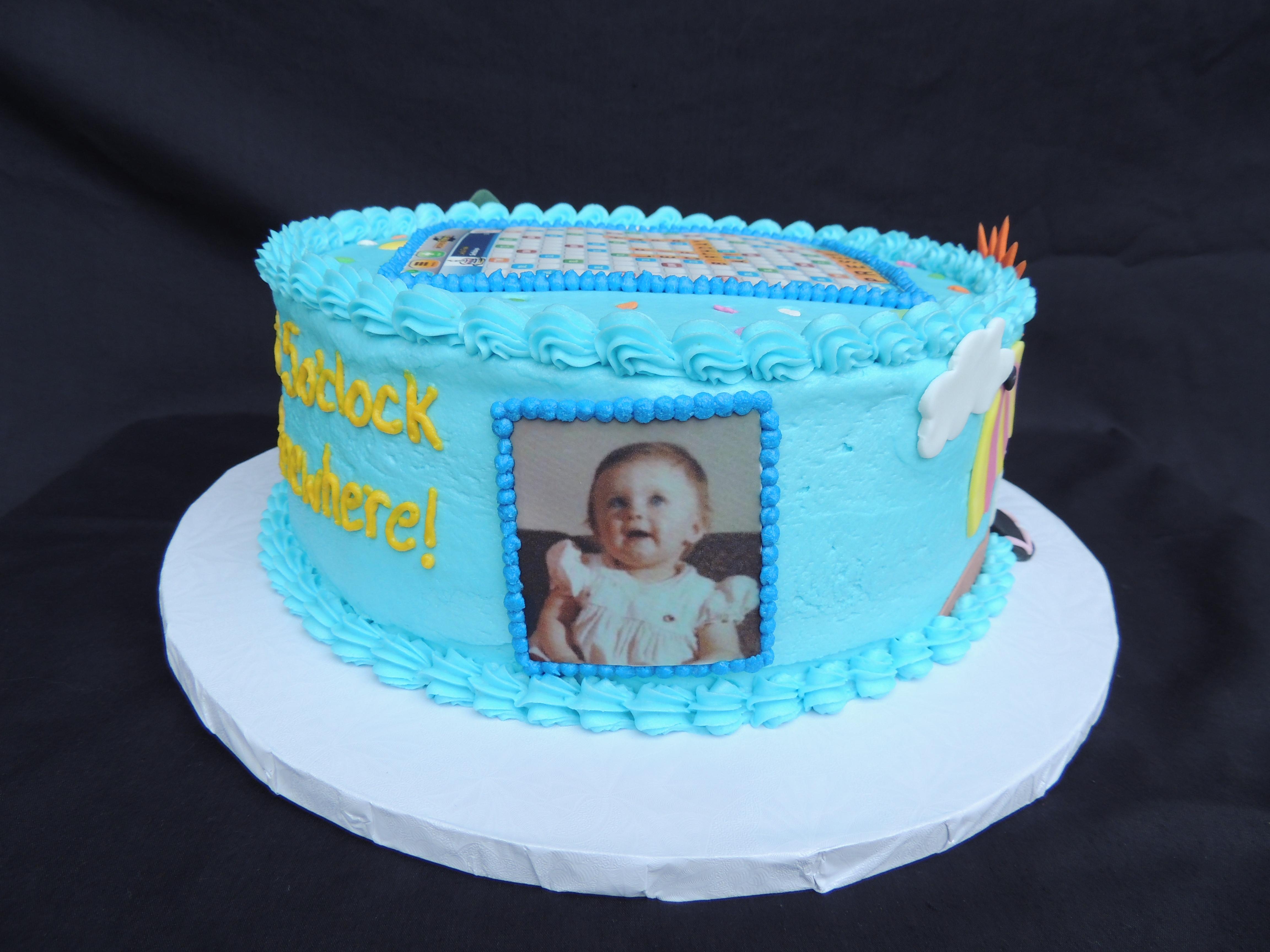 Collage Birthday Cake