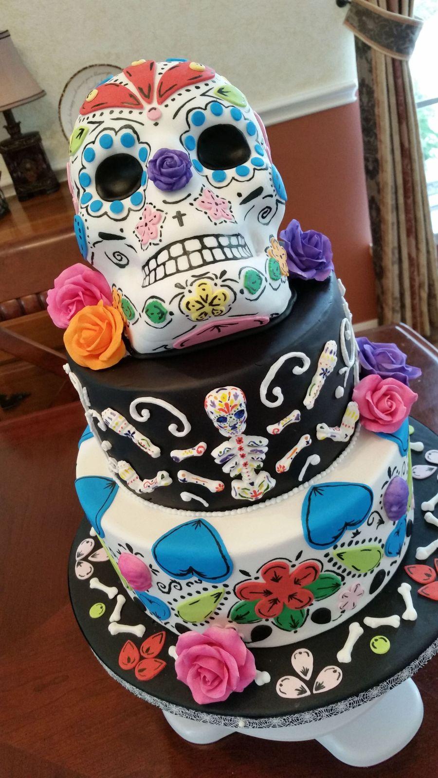 Day Of The Dead Cake Recipe