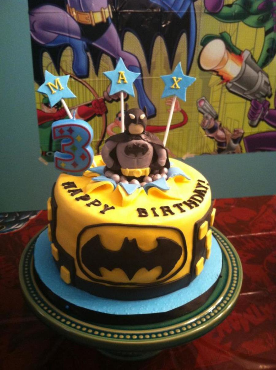 Batman Exploding Cake on Cake Central