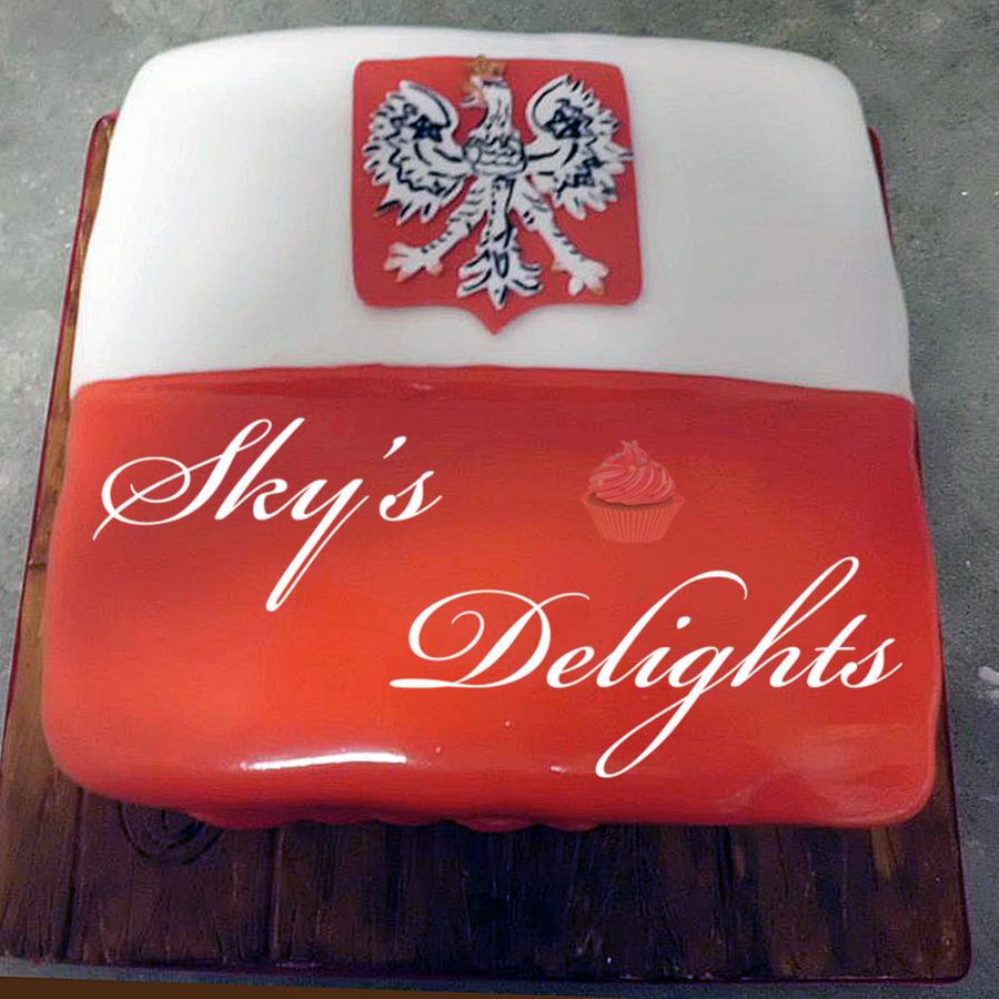 Poland Cake: Polish Flag Cake