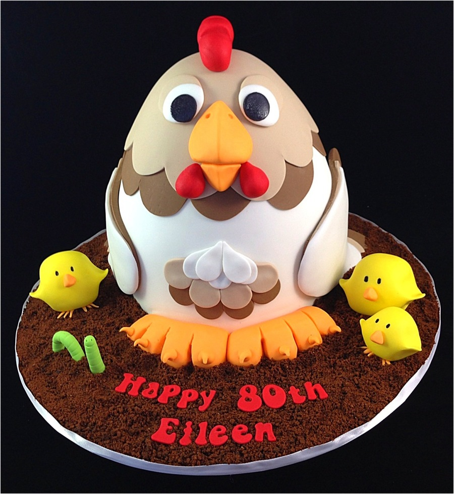 A Chicken Cake This Is Not My Original Design That Was