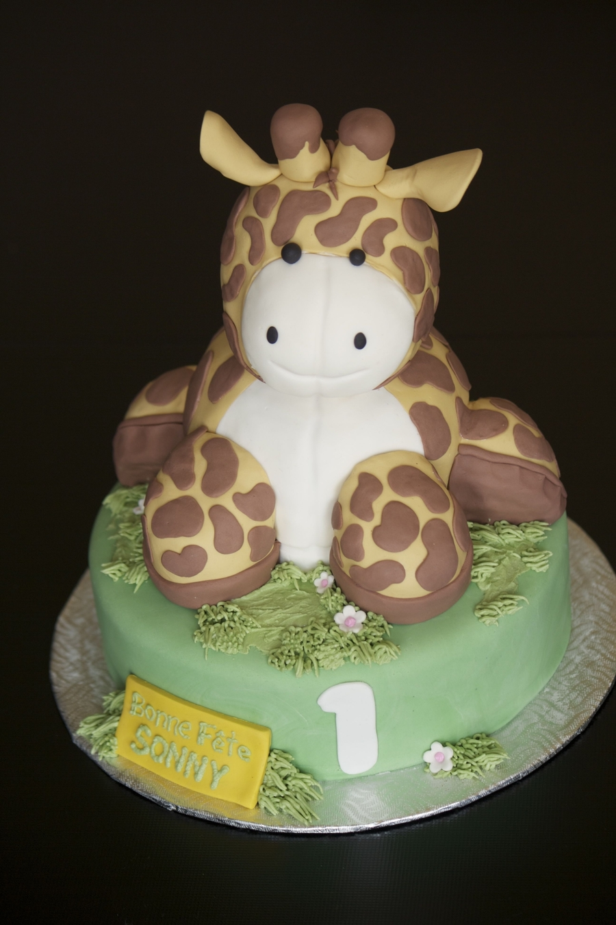 Girafe Plush Cake on Cake Central