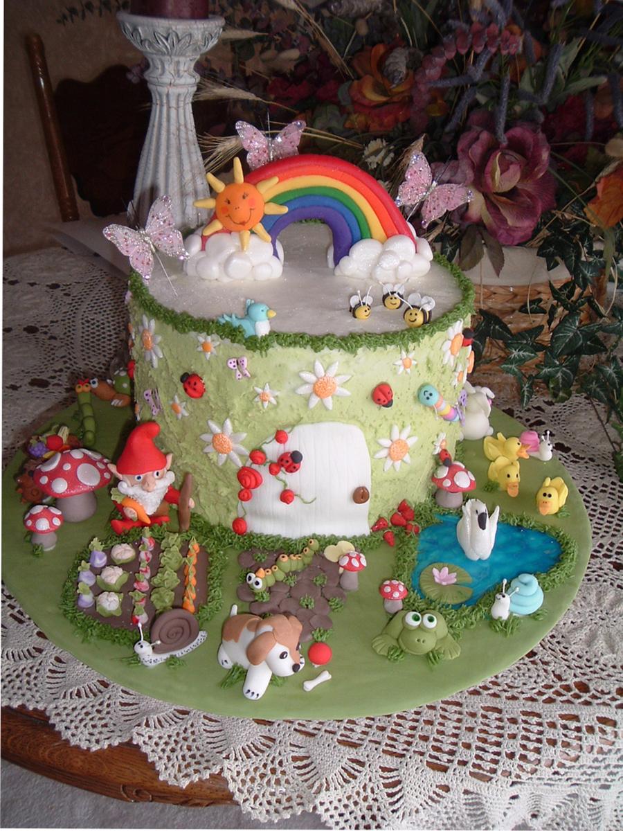 Gnome Cake Recipe