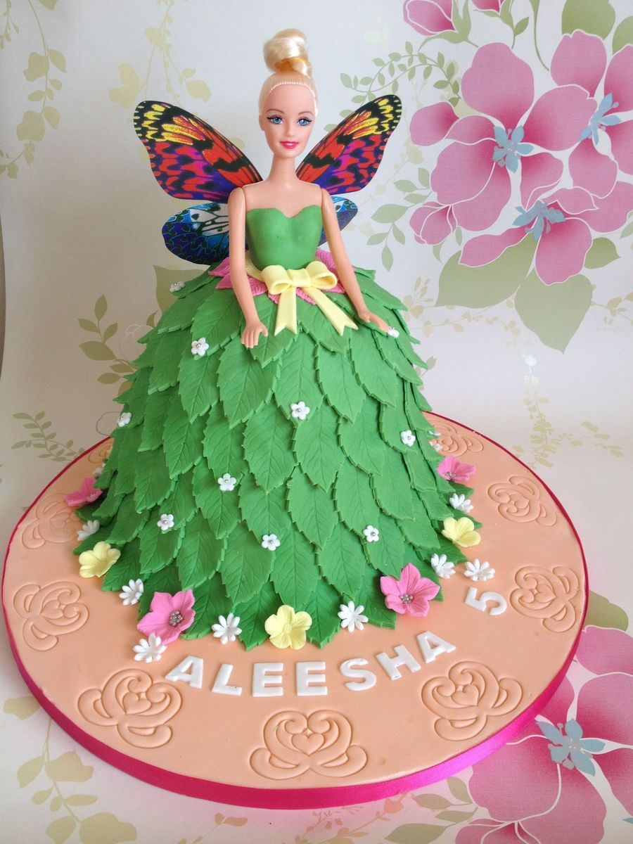 Tinkerbell Doll Cake With A Twist - CakeCentral.com