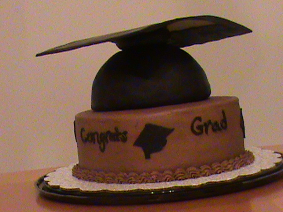 Chocolate Graduation on Cake Central