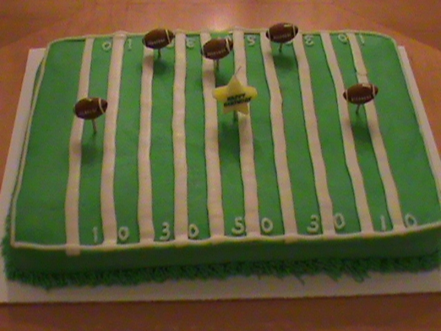 Football Field on Cake Central