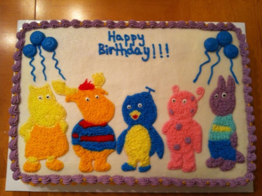 The Backyardigans on Cake Central