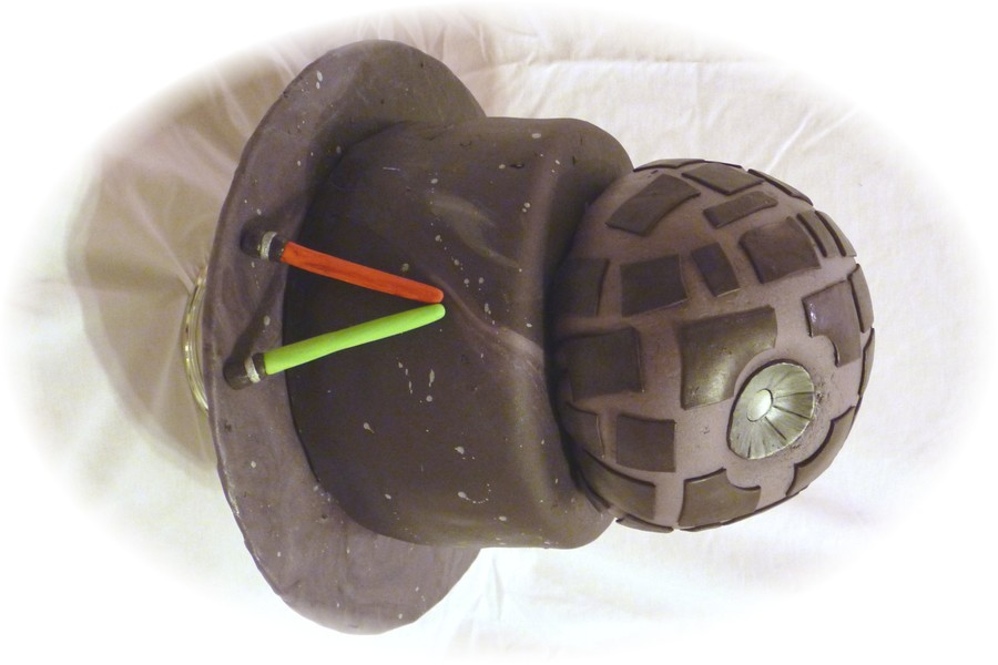 Star Wars Deathstar Cake on Cake Central