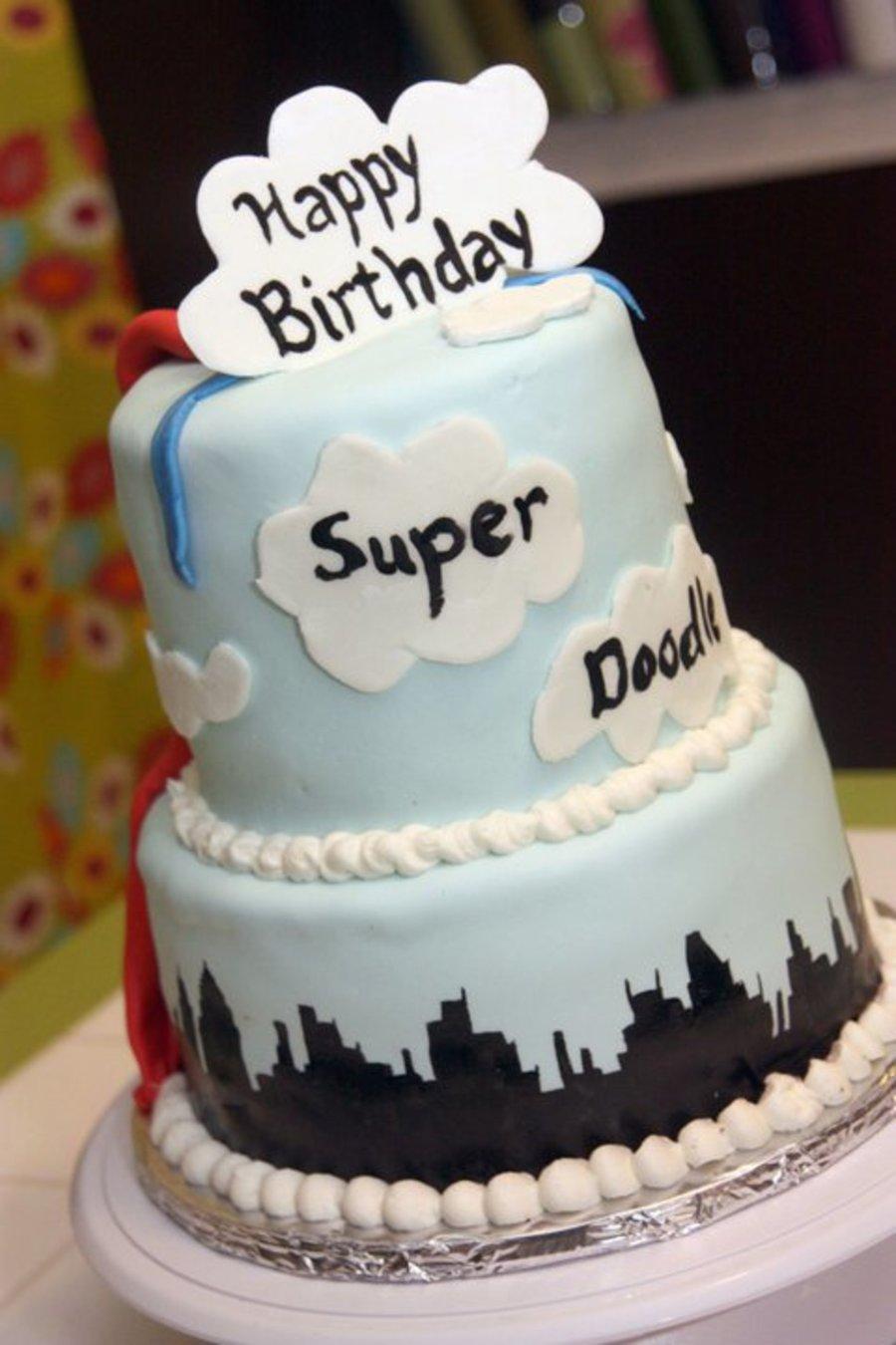 Superman Birthday Cake Cakecentral
