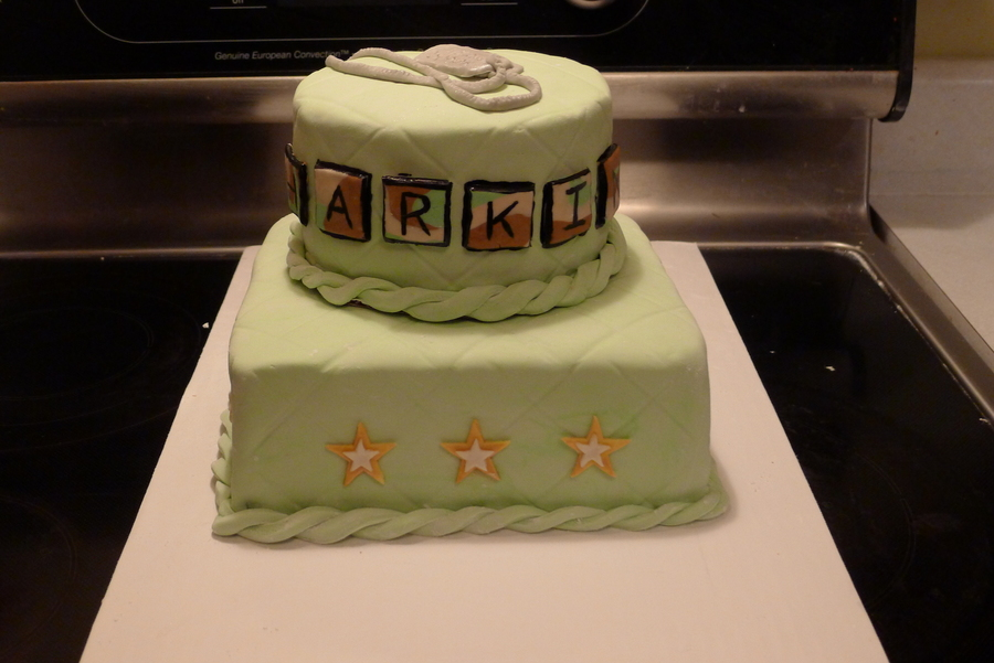 Favorite Army Baby Shower Cake - CakeCentral.com OL27