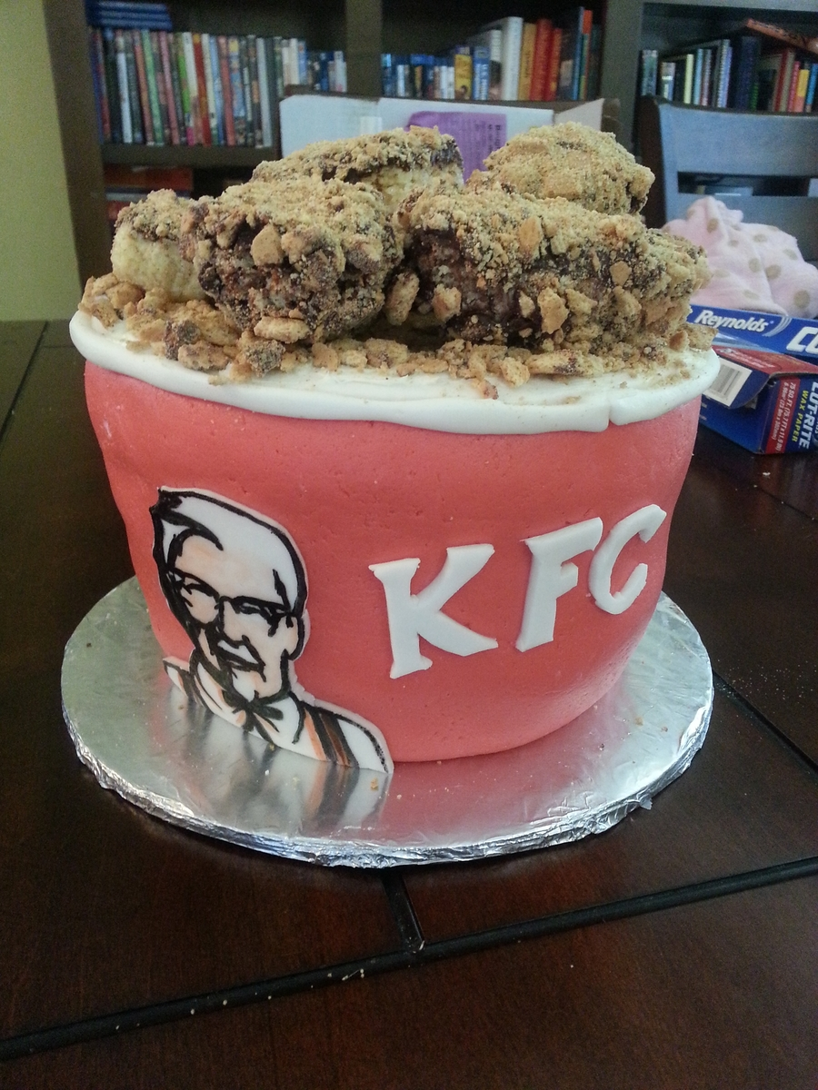Kfc Bucket Of Chicken on Cake Central