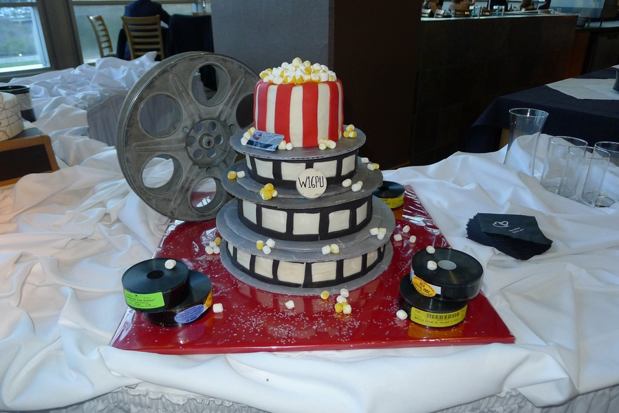 Movie Reel Cake on Cake Central