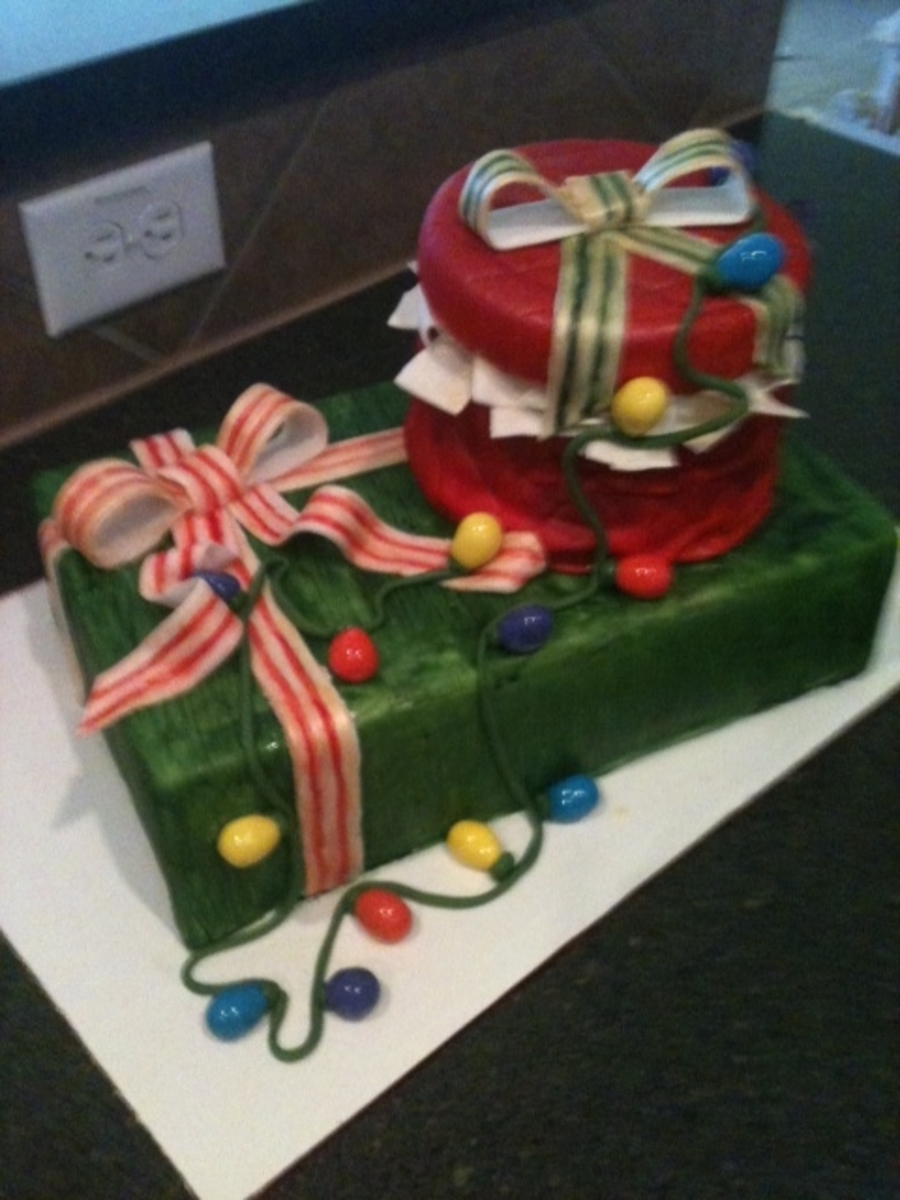 Christmas Presents on Cake Central
