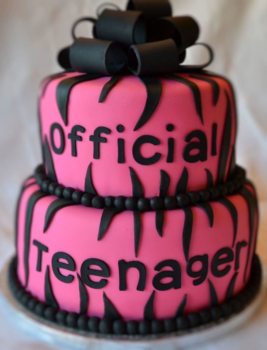 Wondrous Official Teenager Birthday Cake Cakecentral Com Funny Birthday Cards Online Inifofree Goldxyz