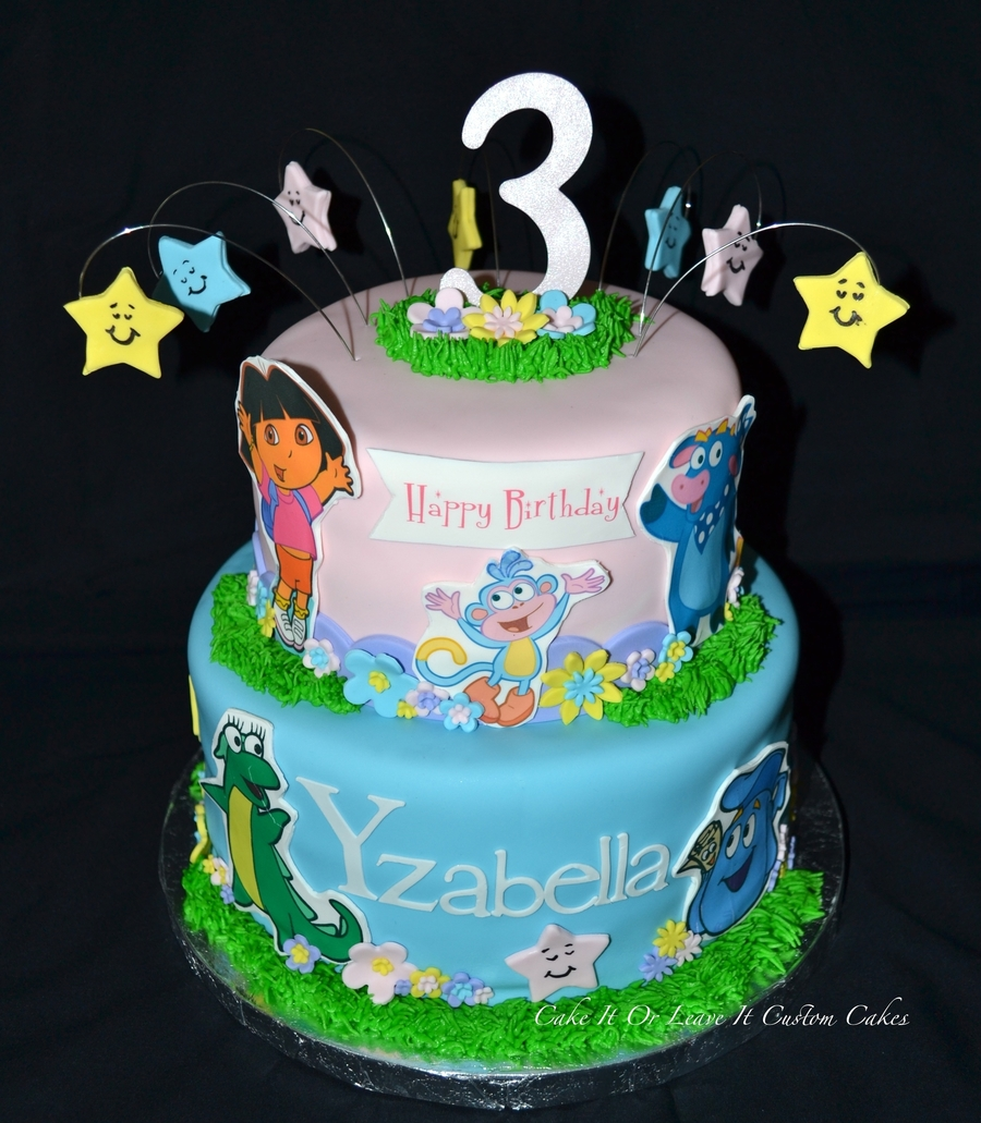 Dora The Explorer Cake  on Cake Central