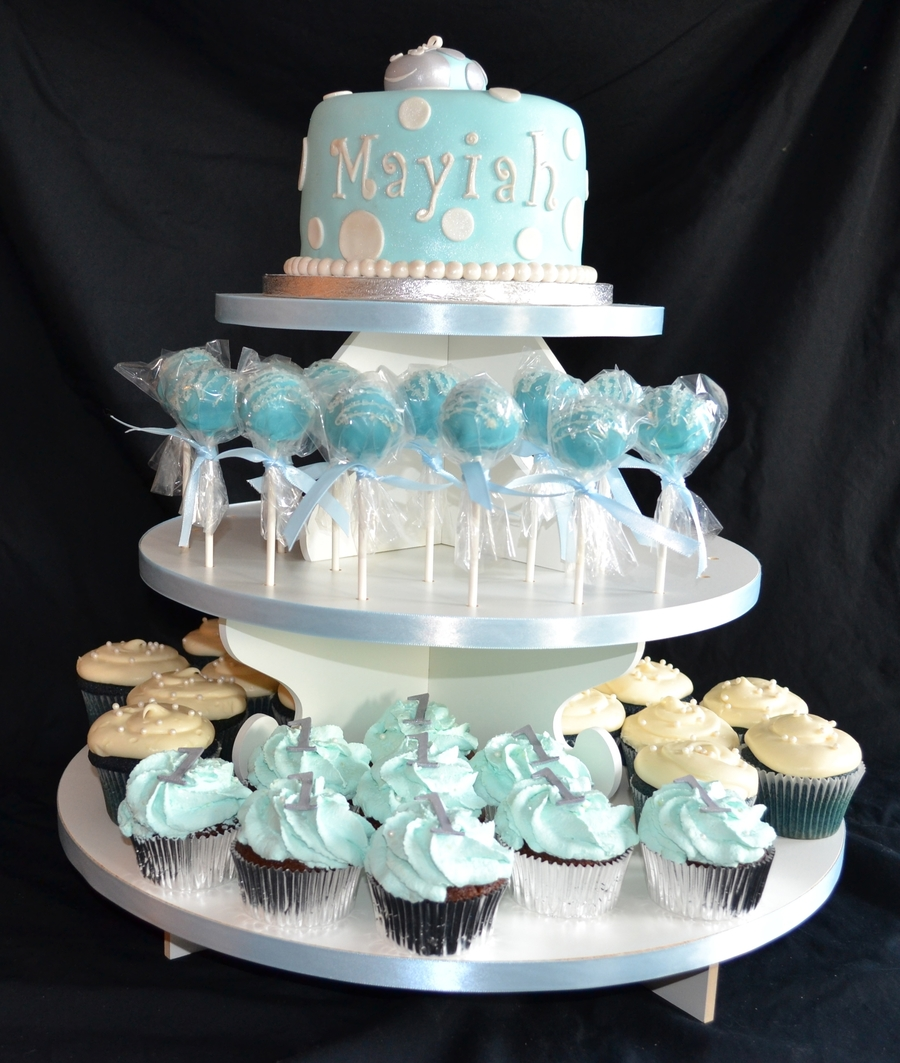 baby blue and silver wedding cakes blue and silver bug birthday cake cupcakes amp cake 10993