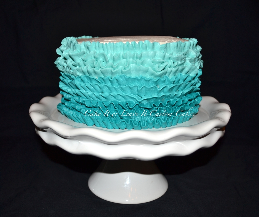 Buttercream Ruffles Cake on Cake Central