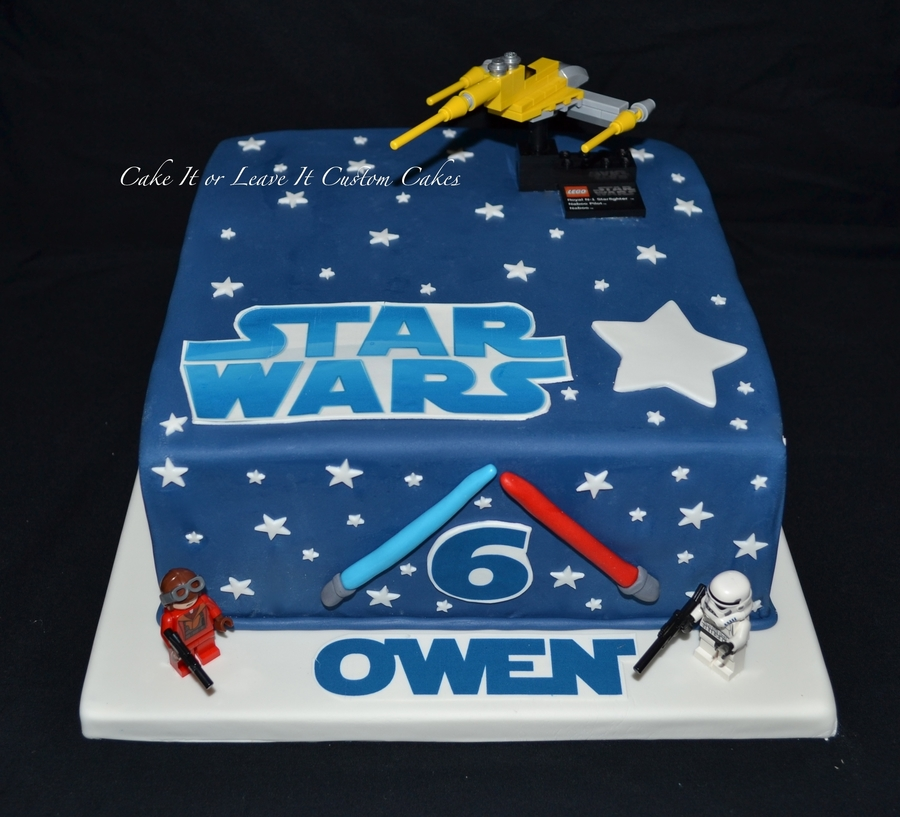 Star Wars 6th Birthday Cake Cakecentral Com