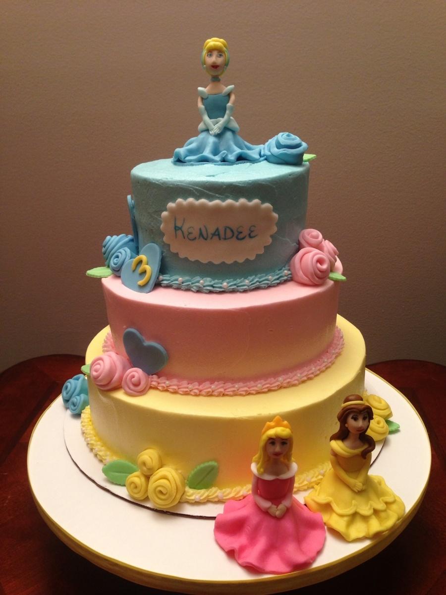 Disney Birthday Cakes At Disney World