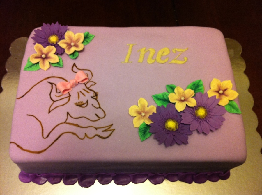 Taurus Birthday Cake on Cake Central