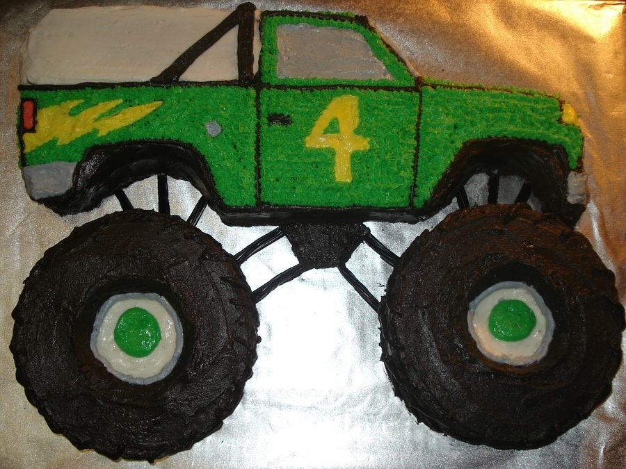 Monster Truck Birthday Cake Cakecentral Com