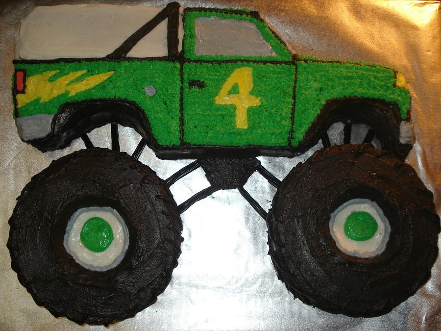 Monster Truck Birthday Cake Pan