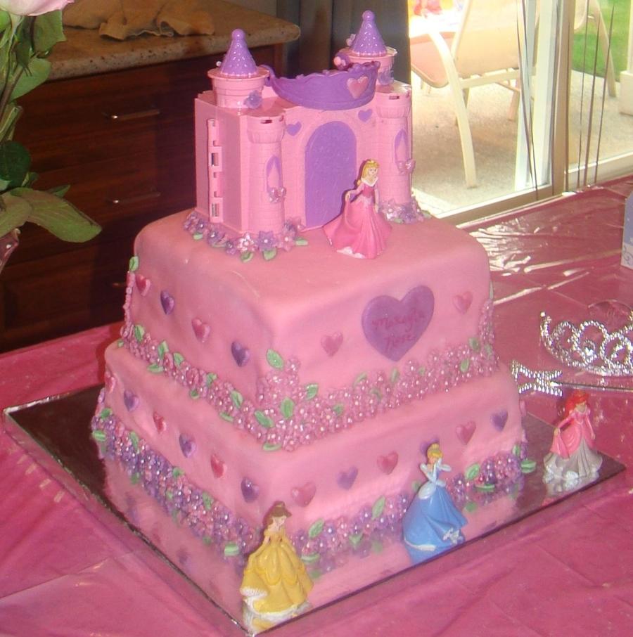 Disney Princess Birthday Cake - CakeCentral.com