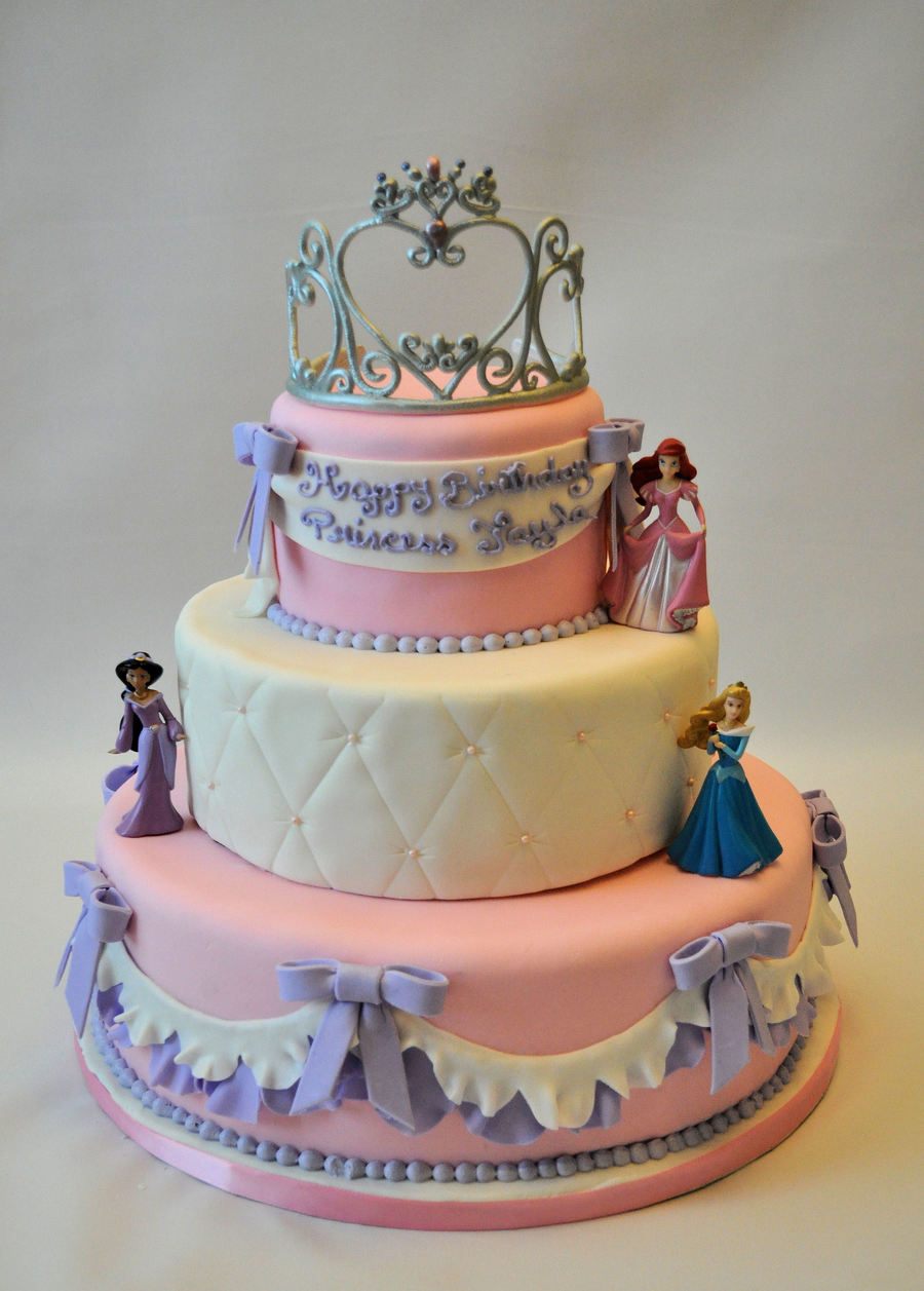Phenomenal Princess Cake Cakecentral Com Birthday Cards Printable Benkemecafe Filternl
