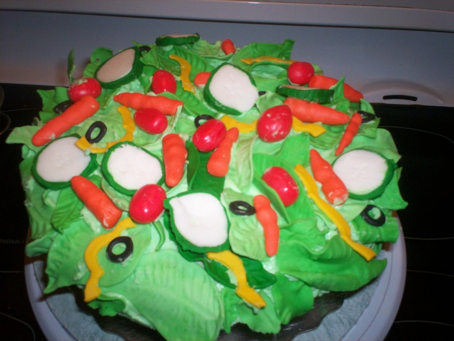 Best Salad Ever ;) on Cake Central