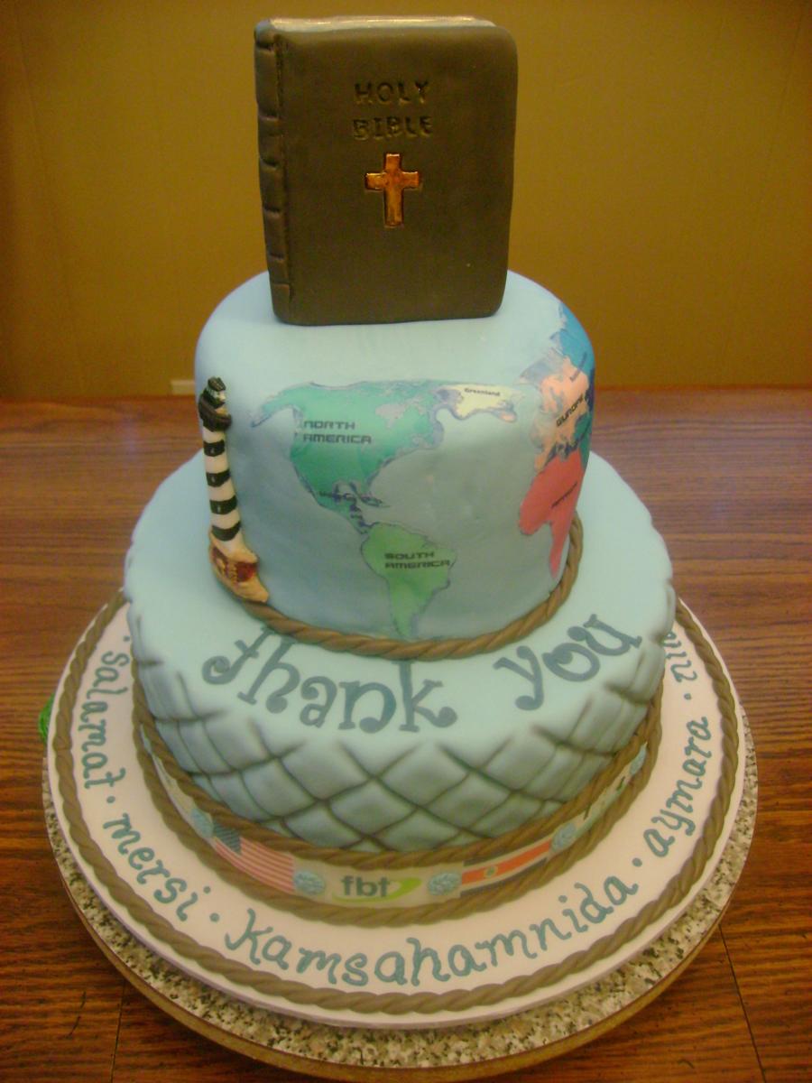 Pastor Appreciation Cake Cakecentral Com