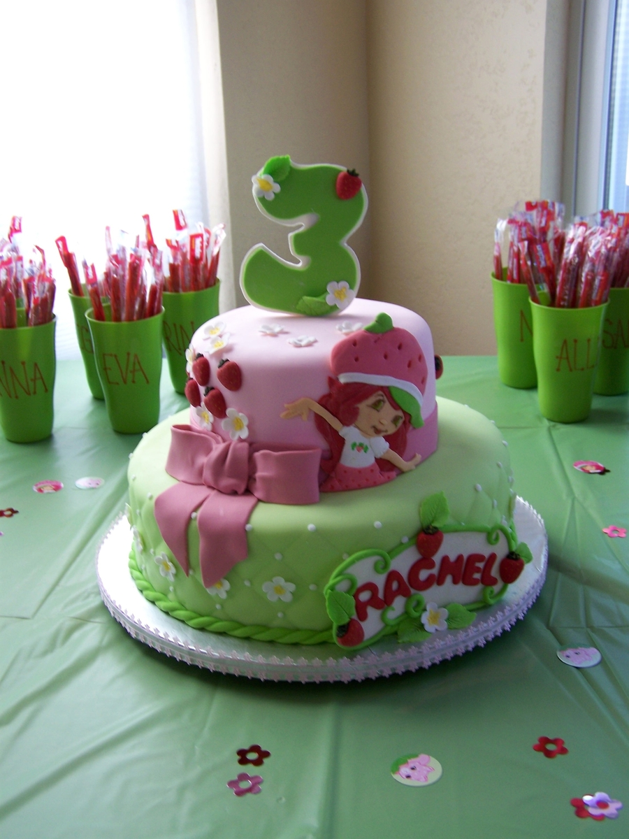 Little Girl S Birthday Cakecentral Com