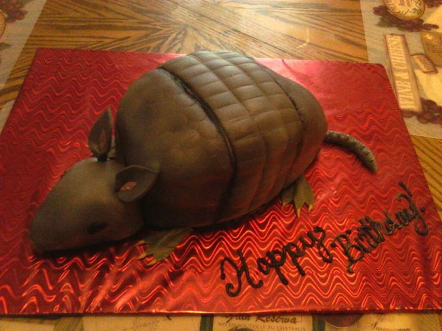 Texas Armadillo on Cake Central