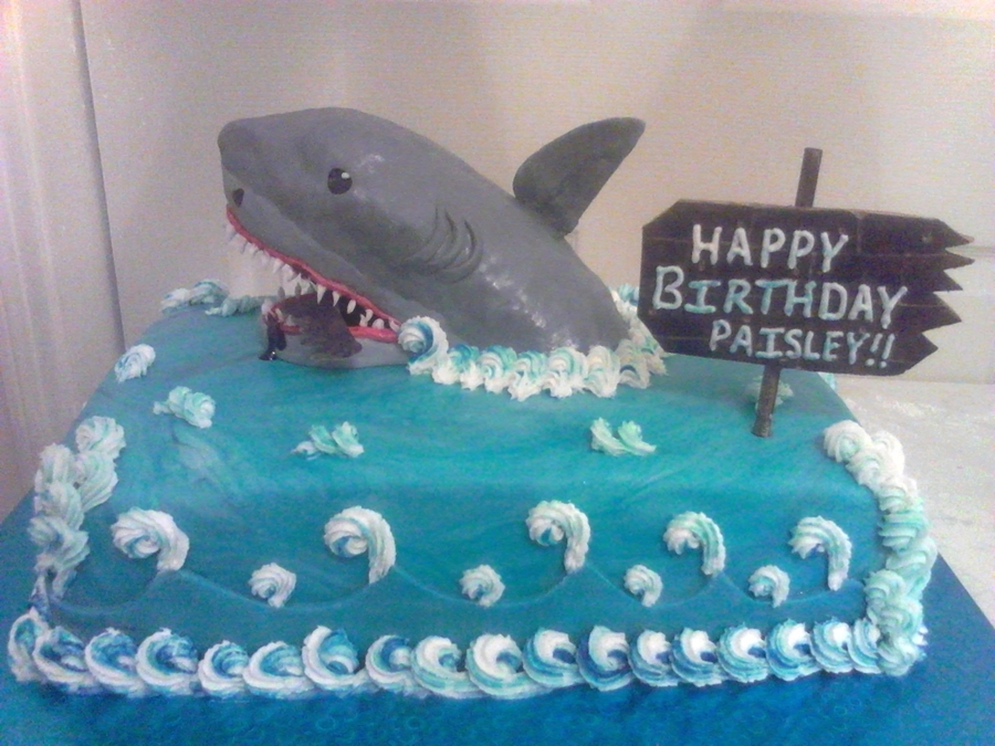 Shark Attack on Cake Central