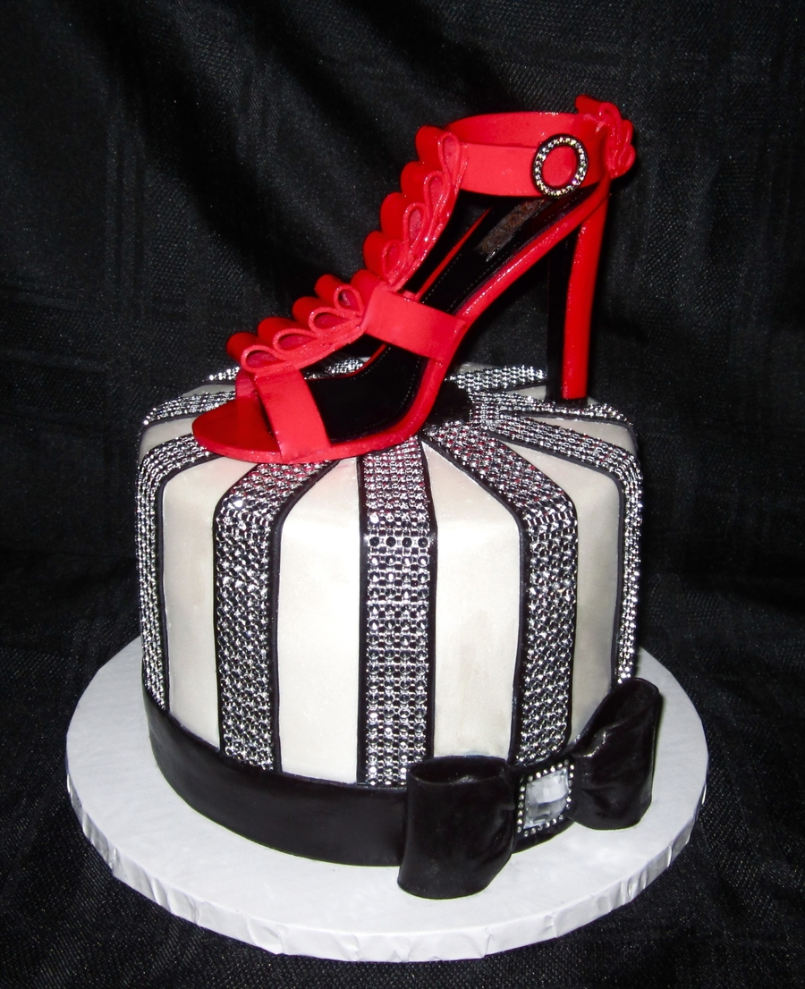 Gucci Shoe Cake On Central
