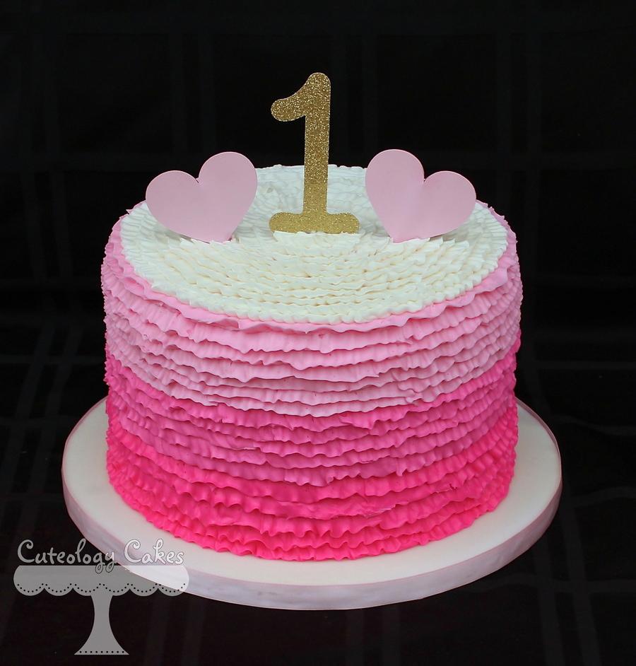 Simple First Birthday Cake Decorating Ideas