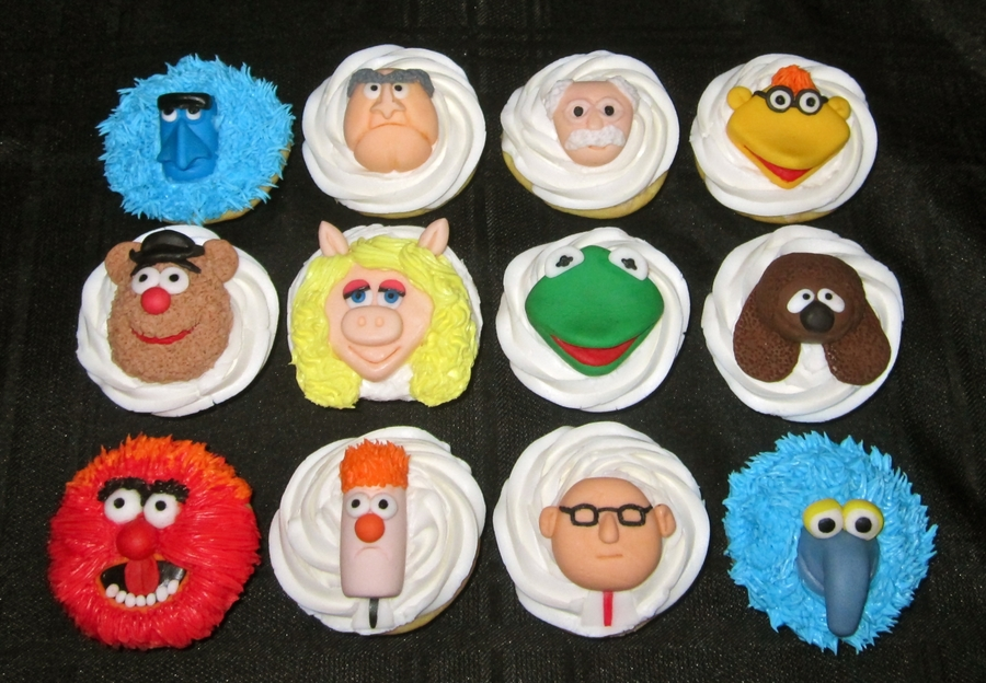 Muppets Cupcakes! on Cake Central