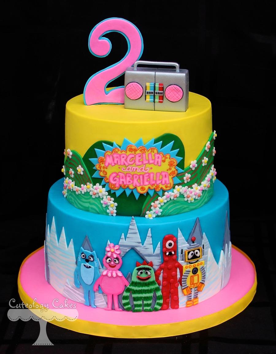 Yo Gabba Gabba Cake - CakeCentral.com