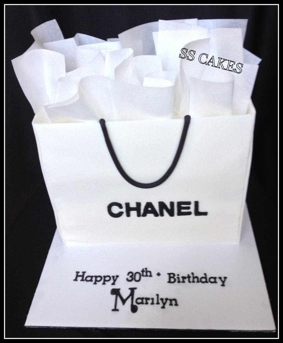 Birthday Cake Shopping Bag