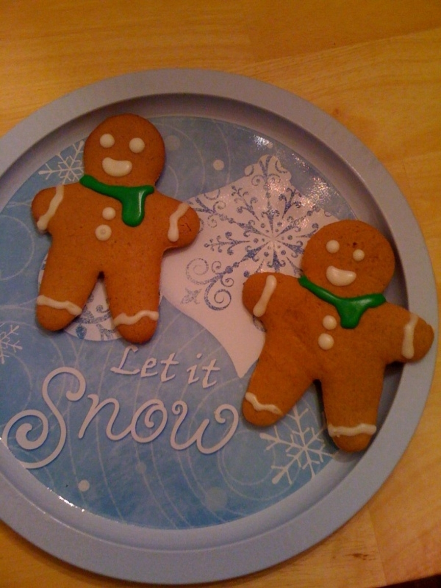 Gingerbread Men Cookies on Cake Central