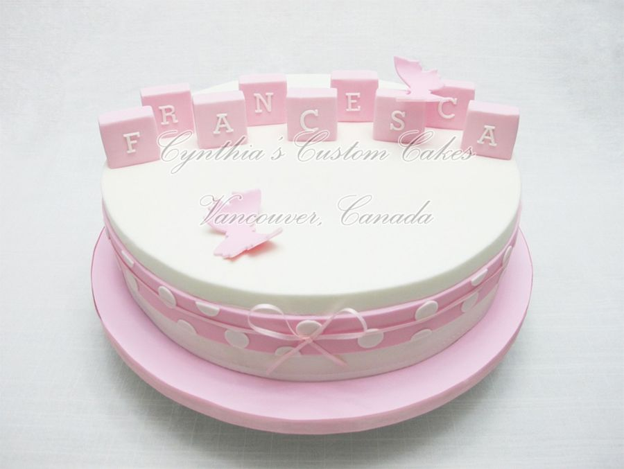 For Francesca on Cake Central