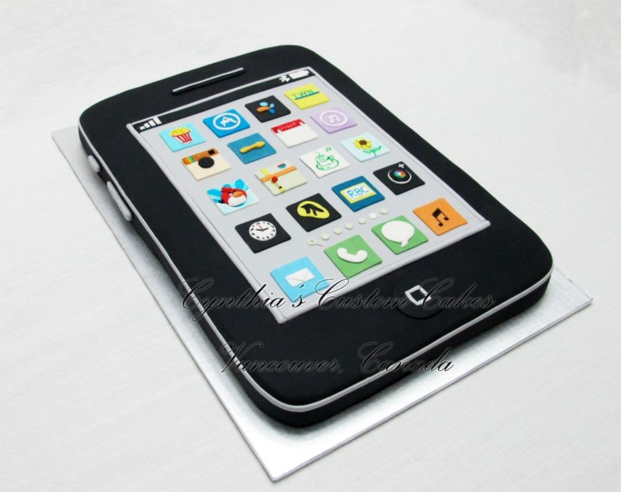Iphone Cake! on Cake Central